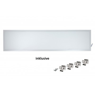 Zielo LED Premium Panel 40 Watt TÜV/GS 30 x 120 cm 4000 Kelvin inkl. Halteklammern