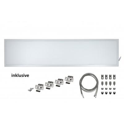 Zielo LED Premium Panel 40 Watt TÜV/GS 30 x 120 cm 4000 Kelvin inkl. Seilabhängung