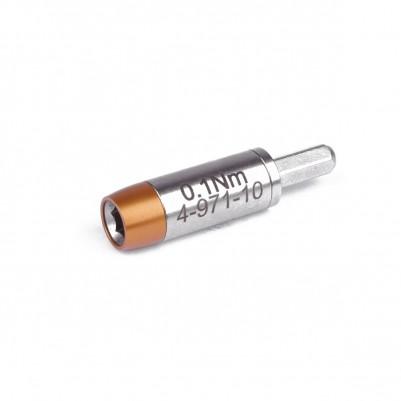 Bernstein TORQUEPLUS Drehmoment-Adapter 0,1 N m, für 4 mm Bits mit 6-knt. Anschluss