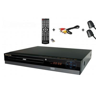 Manta DVD064S DVD-Player inkl. SCART-Kabel