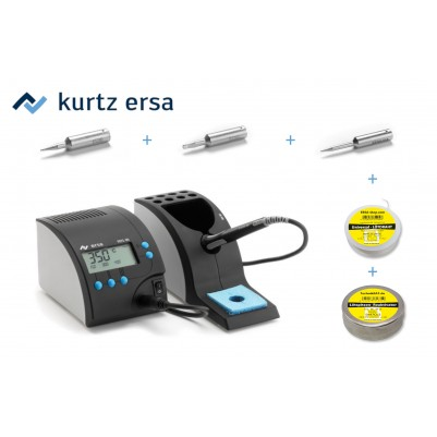 ERSA RDS80 elektronisch geregelte Lötstation 80W Starter-Set 6-Teilig
