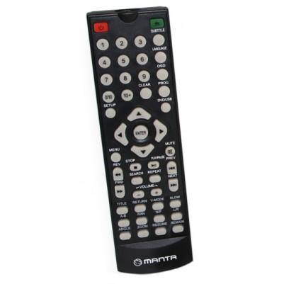 Fernbedienung für Manta DVD Player DVD064S & DVD072
