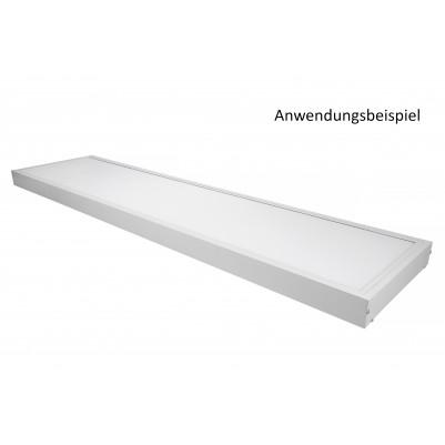 Zielo Aufbaurahmen Aluminium weiß für LED Premium Panel 30 x 120 cm