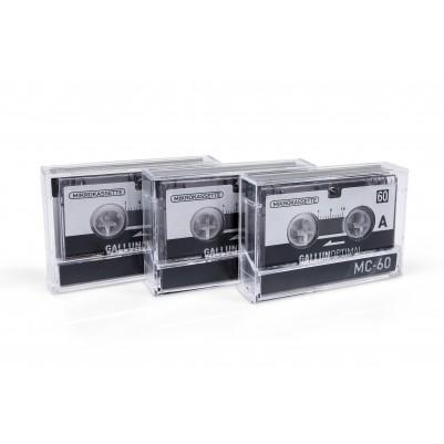 MC60 Mikrokassette 3er Pack