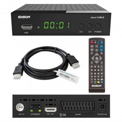 EDISION PICCO digitaler Kabel-Receiver DVB-C