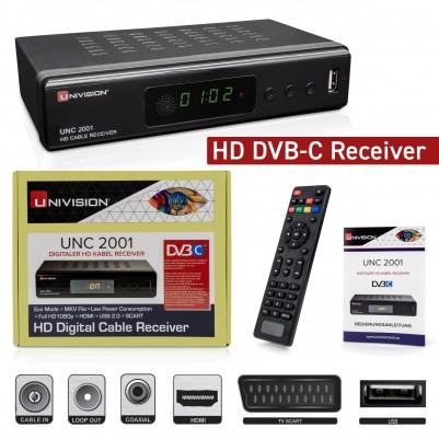 Univision HD Kabel-Receiver DVB-C