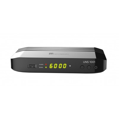 UNIVISION UNS1001 DVB-S2 Full HD-Receiver mit PVR Aufnahmefunktion