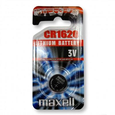 MAXELL Lithium Knopfzelle CR1620 1er Blister 3V