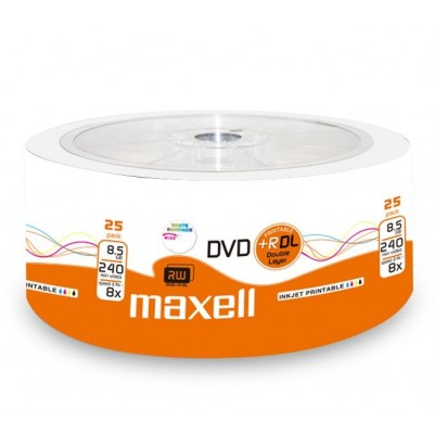 MAXELL DVD+RDL Double Layer bedruckbar 8X Speed