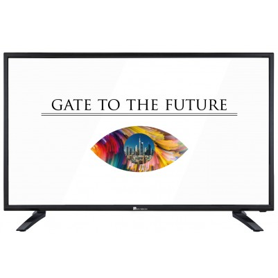 UNIVISION 101cm 40 Zoll Fernseher Full-HD Triple Tuner mit DVB-T2 H.265