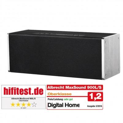 Albrecht MAX-Sound 900L WLAN Multiroom Lautsprecher 38 Watt