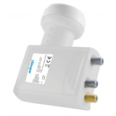 ANKARO Unicable 1 1xSCR 2xLegacy- LNB mit LTE Filter