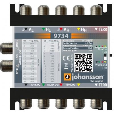 Johansson Digitaler (Breitband) SCR-Multischalter-Kaskade Legacy oder Unicable II