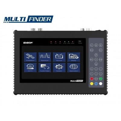 Edision Multi-Finder Messgerät für alle DVB-Typen DVB-S/S2 DVB-T/T2 DVB-C