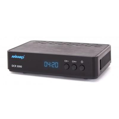 ANKARO Full HD Kabelreceiver mit PVR 1080p, MPEG-2/MPEG-4 SD/HD