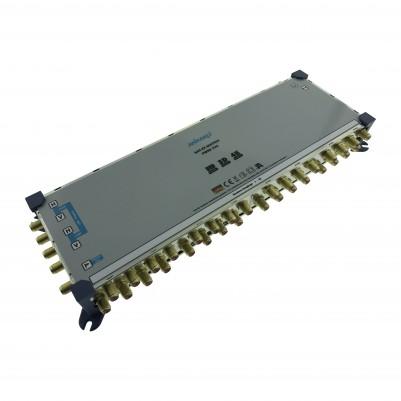 ANKARO Multischalter 5/32 Externes Netzteil Quattro LNB Terr. Eingang aktiv