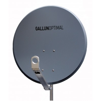 GALLUN 80cm deluxe ALU Satelitten Antenne Sat Spiegel anthrazit