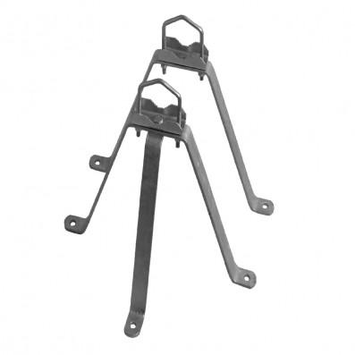 SAT Feuerverzinkter Stahl- Wandhalter 2-teilig 50cm Wandabstand