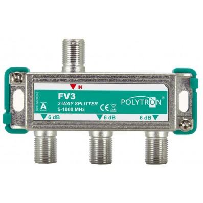 Polytron BK- Verteiler 5-1000 MHz 3-fach