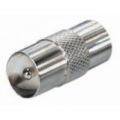 Vollmetall-Koax-Verbinder Stecker/Stecker