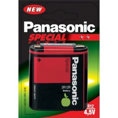 Panasonic LR12 Zink-Kohle 4,5V-Flach SPECIAL POWER im 1 Blister
