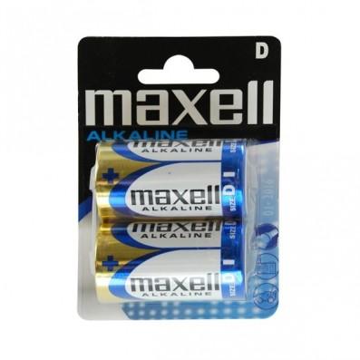 MAXELL Alkaline Batterie LR20 Mono 2 St. Blister