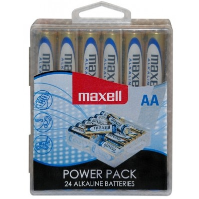MAXELL Alkaline LR6 AA Mignon 24er POWER PACK