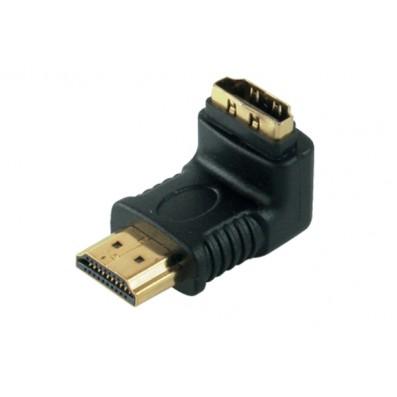 HDMI Winkeladapter 90°, HDMI Stecker <> HDMI Buchse