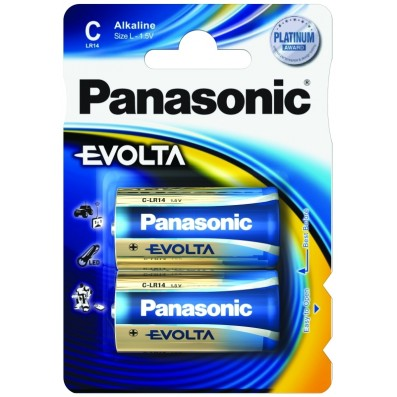 Panasonic Digital Evolta Power LR14 Baby Batterie 1,5V 2er-Blister