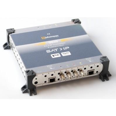 Johansson 9830 Sat>IP Schalter, 4 Eingänge für LNB, 4 Ausgänge