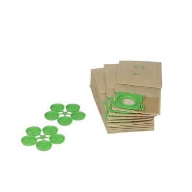 SEBO Filtertüten-Beutel 10 Stück für Geräte der Serien: X, XP, G, C & EVOLUTION 320/370/470