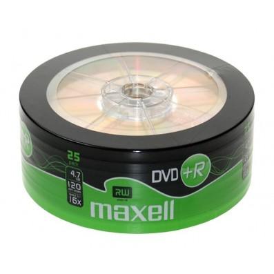 MAXELL DVD+R 4.7GB 16x speed 25er Bulk/shrink