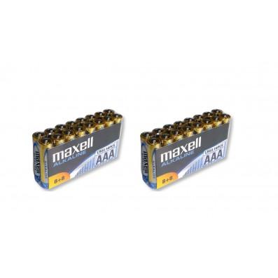 32 x MAXELL Alkaline LR03 AAA Micro Batterien