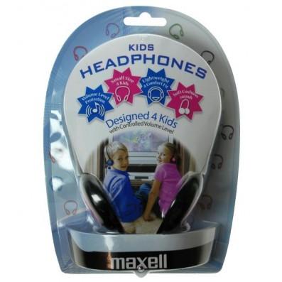 Maxell Kinder-Kopfhörer blau mit Lautstärkebegrenzung