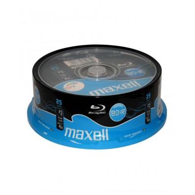 MAXELL BD-R Blu-ray 25GB 4x speed 25er Spindel bedruckbar
