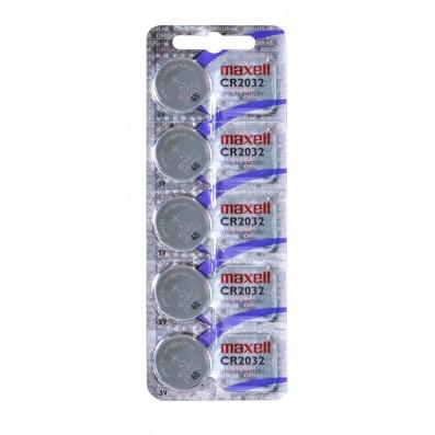 MAXELL Lithium Knopfzelle CR2032 5er Blister
