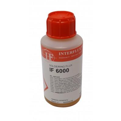 Interflux Flussmittel IF6000 kolophoniumbasiert halogenfrei für Rework ROL0 100ml Flasche