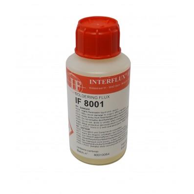 Interflux Flussmittel 8001 halogenfrei für Rework REL0 100ml Flasche